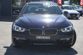 2012 BMW 3 Series F30 328i Blue 8 Speed Sports Automatic Sedan.