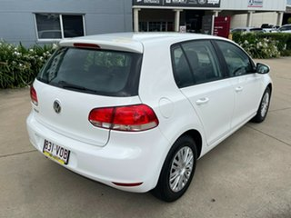 2011 Volkswagen Golf VI MY11 77TSI White 6 Speed Manual Hatchback.