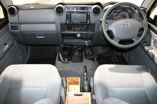 2014 Toyota Landcruiser VDJ76R MY12 Update GXL (4x4) Grey 5 Speed Manual Wagon