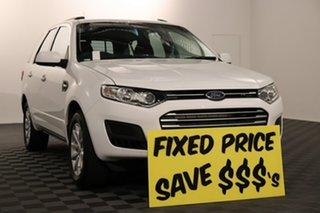 2016 Ford Territory SZ MkII TX Seq Sport Shift AWD White 6 speed Automatic Wagon.