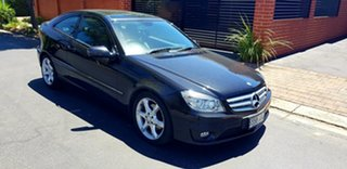 2010 Mercedes-Benz CLC200 Kompressor 203 Evolution + Obsidian Black Metallic 5 Speed Automatic Coupe
