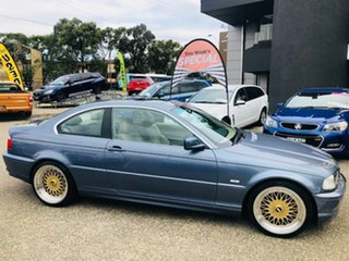 2001 BMW 3 Series E46 MY2002 325Ci Steptronic Blue 5 Speed Sports Automatic Coupe