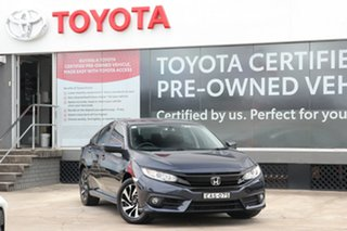 2018 Honda Civic MY18 VTi-SL (Luxe) Limited Edition Cosmic Blue Continuous Variable Sedan.