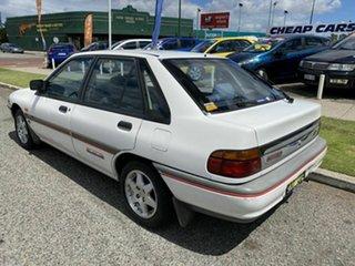 1994 Ford Laser KHII GL White 3 Speed Automatic Sedan