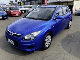 2011 Hyundai i30 FD MY11 SLX Blue 4 Speed Automatic Hatchback.