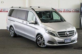 2018 Mercedes-Benz V250d 447 MY17 Avantgarde MWB Silver 7 Speed Automatic Wagon.