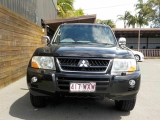 2005 Mitsubishi Pajero NP MY06 Exceed Black 5 Speed Sports Automatic Wagon