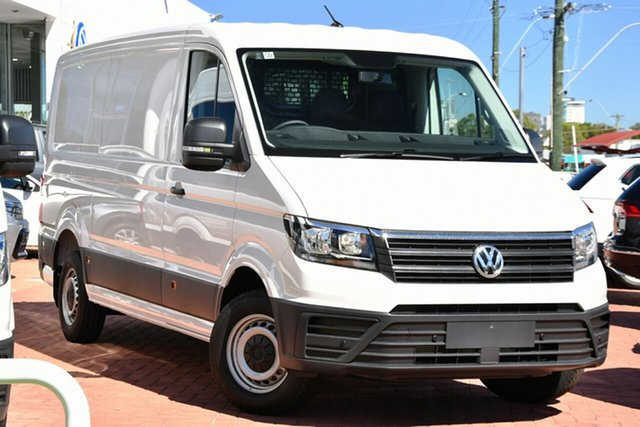 New Volkswagen Crafter SY1 MY20 35 High Roof LWB FWD TDI340 Victoria Park, 2020 Volkswagen Crafter SY1 MY20 35 High Roof LWB FWD TDI340 Candy White 8 Speed Automatic Van