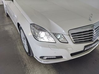 2009 Mercedes-Benz E-Class W212 E250 CDI BlueEFFICIENCY Avantgarde White 5 Speed Sports Automatic.