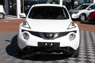 2019 Nissan Juke F15 MY18 Ti-S 2WD Arctic White 6 Speed Manual Hatchback