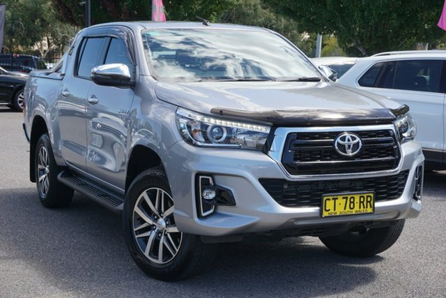 Used Toyota Hilux GUN126R SR5 Double Cab Phillip, 2018 Toyota Hilux GUN126R SR5 Double Cab Silver 6 Speed Sports Automatic Utility