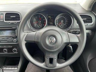 2011 Volkswagen Golf VI MY11 77TSI White 6 Speed Manual Hatchback