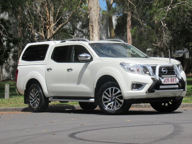 Used Nissan Navara D23 ST-X, 2015 Nissan Navara D23 ST-X White 6 Speed Manual Utility