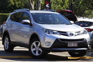 2013 Toyota RAV4 ZSA42R GXL 2WD Silver 6 Speed Manual Wagon