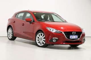 2016 Mazda 3 BM MY15 SP25 GT Soul Red 6 Speed Automatic Hatchback.
