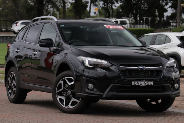 Pre-Owned Subaru XV G5X MY18 2.0i-S Lineartronic AWD Warwick Farm, 2018 Subaru XV G5X MY18 2.0i-S Lineartronic AWD Black 7 Speed Constant Variable SUV