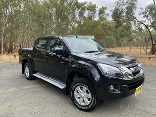 2016 Isuzu D-MAX MY15 LS-M Crew Cab Black 5 Speed Manual Utility.