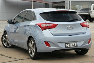 2012 Hyundai i30 GD Premium Blue 6 Speed Automatic Hatchback.