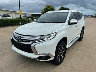 2018 Mitsubishi Pajero Sport QE MY18 Exceed White 8 Speed Sports Automatic Wagon