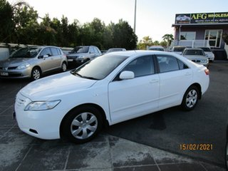 2008 Toyota Camry ACV40R 07 Upgrade Altise White 5 Speed Automatic Sedan
