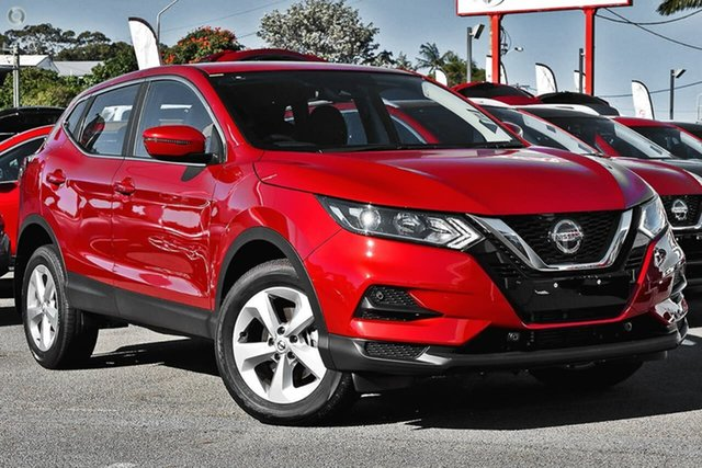 New Nissan Qashqai J11 Series 3 MY20 ST X-tronic Gympie, 2020 Nissan Qashqai J11 Series 3 MY20 ST X-tronic Magnetic Red 1 Speed Constant Variable Wagon