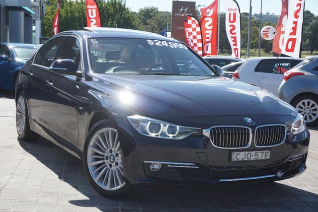 Used BMW 3 Series F30 328i Phillip, 2012 BMW 3 Series F30 328i Blue 8 Speed Sports Automatic Sedan