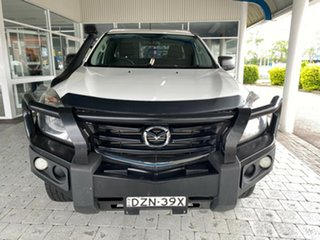 2018 Mazda BT-50 XT Cool White Sports Automatic Cab Chassis - Extended Cab.