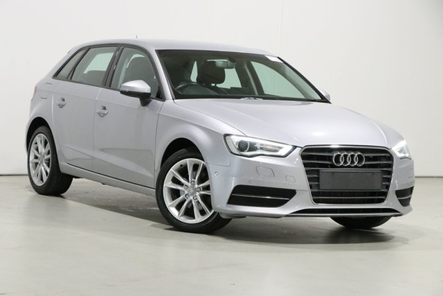 Used Audi A3 8V MY16 Sportback 1.6 TDI Attraction Bentley, 2016 Audi A3 8V MY16 Sportback 1.6 TDI Attraction Silver 7 Speed Auto Direct Shift Hatchback