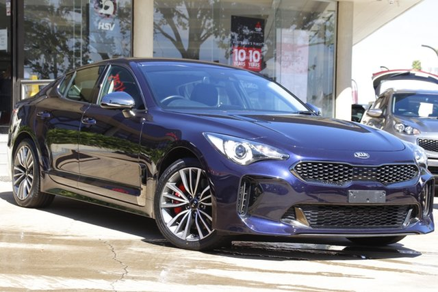 Used Kia Stinger CK MY19 330S Fastback Toowoomba, 2019 Kia Stinger CK MY19 330S Fastback Blue 8 Speed Sports Automatic Sedan