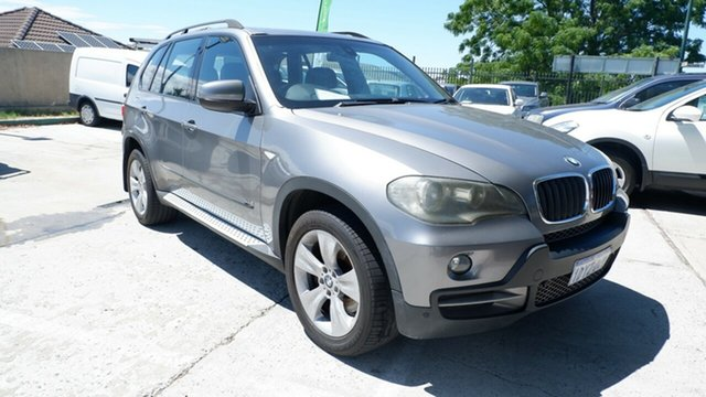 Used BMW X5 E70 MY09 xDrive30d Steptronic St James, 2008 BMW X5 E70 MY09 xDrive30d Steptronic Grey 6 Speed Sports Automatic Wagon