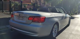 2010 BMW 320d E93 MY10 Silver 6 Speed Auto Steptronic Convertible