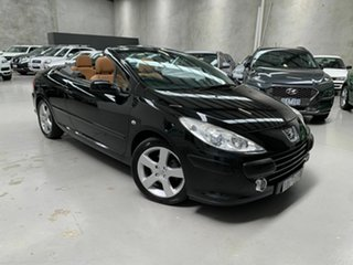 2008 Peugeot 307 T6 MY08 CC Dynamic Black 4 Speed Sports Automatic Cabriolet