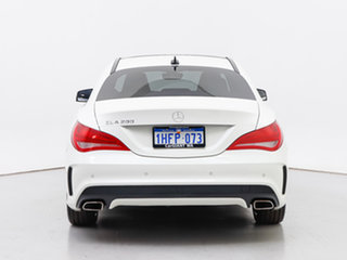 2016 Mercedes-Benz CLA200 117 MY16 White 7 Speed Automatic Coupe