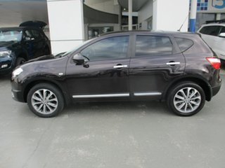 2012 Nissan Dualis J10 Series 3 TI-L (4x2) Purple 6 Speed CVT Auto Sequential Wagon.