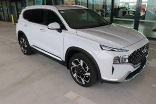 2020 Hyundai Santa Fe Tm.v3 MY21 Elite Glacier White 8 Speed Sports Automatic Wagon.