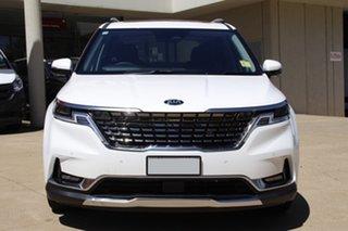 2020 Kia Carnival KA4 MY21 Platinum Snow White Pearl 8 Speed Sports Automatic Wagon
