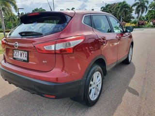 2016 Nissan Qashqai J11 ST Red 1 Speed Constant Variable Wagon.