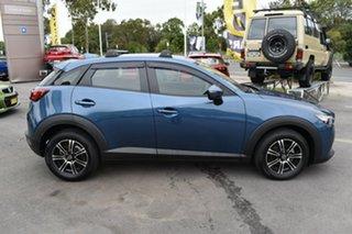 2017 Mazda CX-3 DK2W76 Maxx SKYACTIV-MT Blue 6 Speed Manual Wagon.