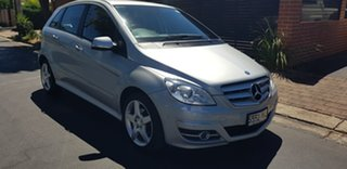 2010 Mercedes-Benz B180 245 MY10 Quartz Silver 7 Speed CVT Auto Sequential Hatchback.