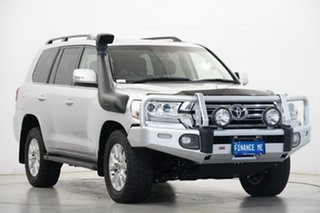 2016 Toyota Landcruiser VDJ200R VX Silver 6 Speed Sports Automatic Wagon