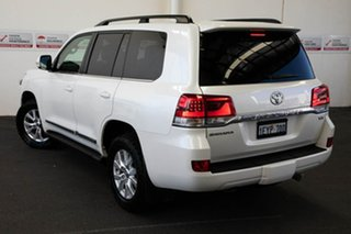 2015 Toyota Landcruiser VDJ200R MY16 Sahara (4x4) Crystal Pearl 6 Speed Automatic Wagon