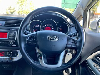 2015 Kia Rio UB MY15 SLi Silver 6 Speed Sports Automatic Hatchback