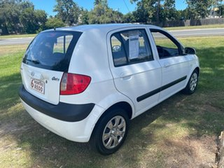 2010 Hyundai Getz TB MY09 SX White 5 Speed Manual Hatchback