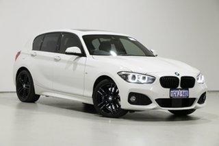 2019 BMW 125i F20 LCI MY19 Shadow Edition White 8 Speed Automatic Hatchback.