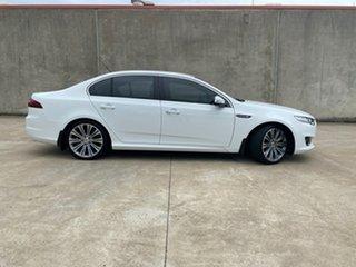 2015 Ford Falcon FG X G6E Turbo White 6 Speed Sports Automatic Sedan.