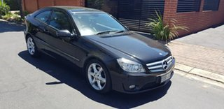 2010 Mercedes-Benz CLC200 Kompressor 203 Evolution + Obsidian Black Metallic 5 Speed Automatic Coupe.