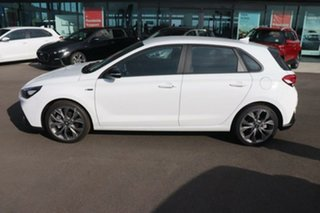 2020 Hyundai i30 PD.V4 MY21 N Line Polar White 6 Speed Manual Hatchback.