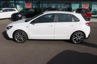 2020 Hyundai i30 PD.V4 MY21 N Line Polar White 6 Speed Manual Hatchback.