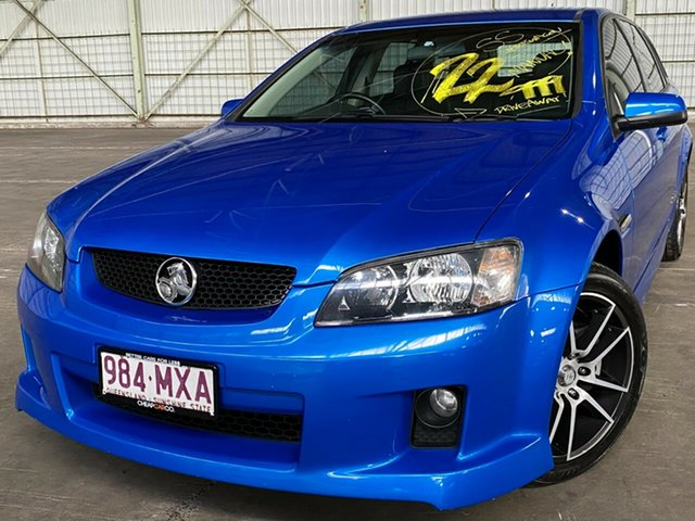 Used Holden Commodore VE MY10 SS V Sportwagon Rocklea, 2010 Holden Commodore VE MY10 SS V Sportwagon Blue 6 Speed Manual Wagon