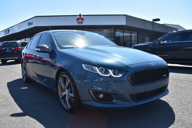 Used Ford Falcon FG X XR8 Wantirna South, 2015 Ford Falcon FG X XR8 Blue 6 Speed Sports Automatic Sedan